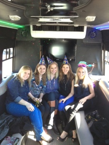 Surprise Birthday Bus